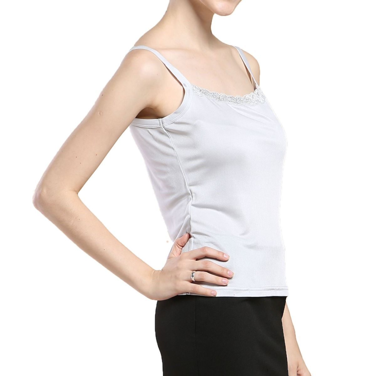 Paradise Silk Pure Silk Knitted Womens Camisole Tank Top