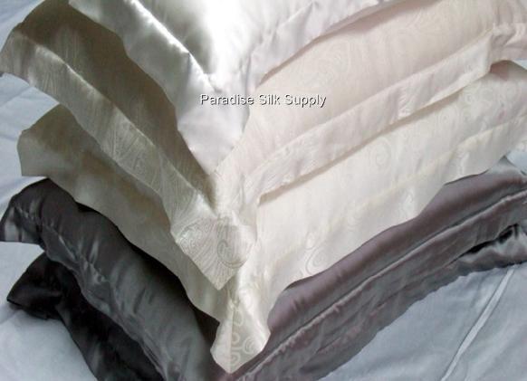 Soft Silk Envelope Pillowcase With Hem