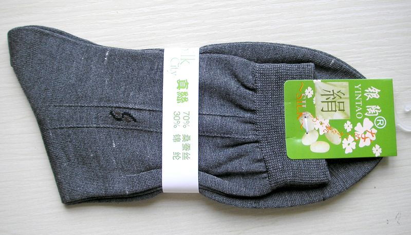 Lot 3 Pair New Knit Silk Sheer Socks Size 26-28