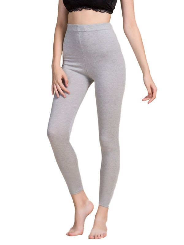 Womens Silk Cashmere Blend Under Pants Bottom