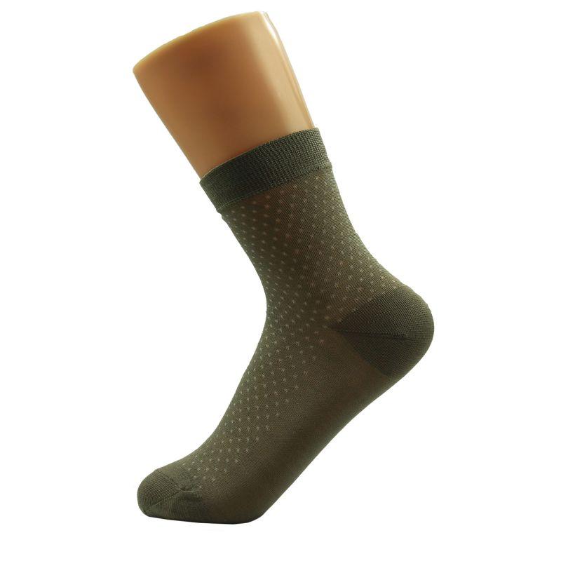 Lot 3Pair Knit Silk Women Sheer Thickness Socks 22-24
